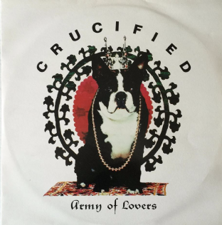 "Army Of Lovers ‎- Crucified (12"") (EX/VG)"